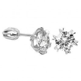 Brilio Silver Stříbrné náušnice s krystalem 436 001 00442 04 - 1,92 g stříbro 925/1000