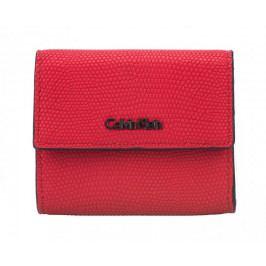 Calvin Klein Dámská peněženka Arch Small Trifold Liz Scarlet