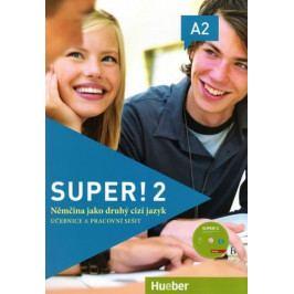 Vicente Sara, Cristache Carmen: Super! 2/A2: učebnice a pracovní sešit + CD zdarma