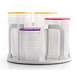 Ceramic Blade Sada stohovatelných krabiček na jídlo se stojanem - II. jakost