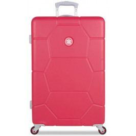 SuitSuit Cestovní kufr Caretta L malinová - II. jakost