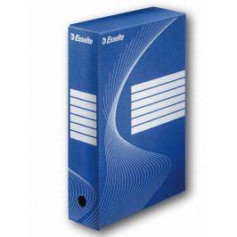 Krabice archivační modrá 80 mm
