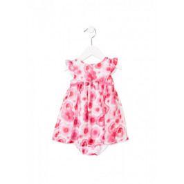 Losan dívčí šaty 68 růžová