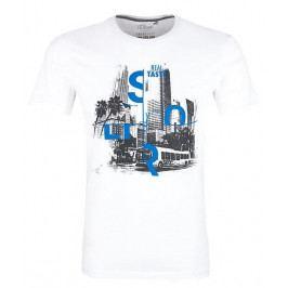 s.Oliver pánské tričko M bílá