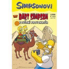 Groening Matt: Simpsonovi - Bart Simpson 5/2018 - Pouštní provokatér