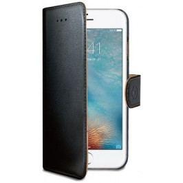 Celly Pouzdro Wally, Apple iPhone 7, PU kůže, černé - II. jakost
