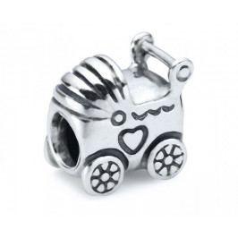 Pandora Stříbrný přívěsek Dětský kočárek 790346 stříbro 925/1000