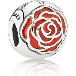 Pandora Překrásný korálek Disney Bellina růže 791575EN09 stříbro 925/1000