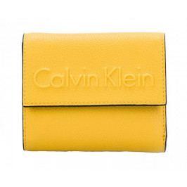 Calvin Klein Dámská peněženka Edge Medium Trifold Sunflower