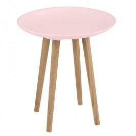 Design Scandinavia Konfereční / odkládací stolek Ema, růžová