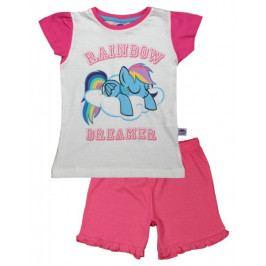 E plus M dívčí pyžamo My Little Pony 98 bílá/růžová