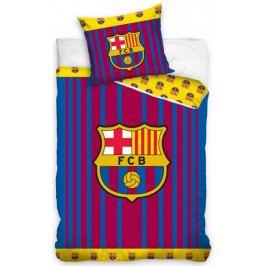 Carbotex Fotbalové povlečení FC Barcelona Vertical