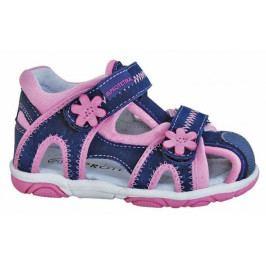 Protetika Dívčí sandály Ibiza 21 modro-růžové