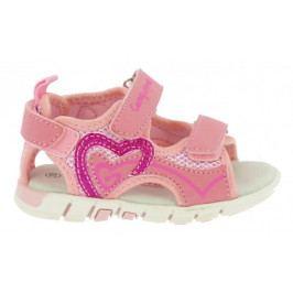 Canguro dívčí sandály 20 růžová