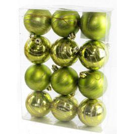 Seizis Koule s dekorem zelené 12 ks