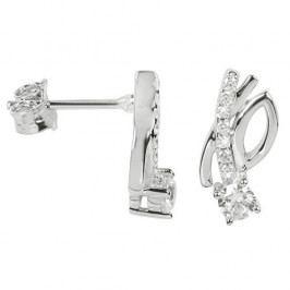 Silver Cat Stříbrné náušnice se zirkony SC235 stříbro 925/1000