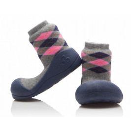 Attipas Chlapecké botičky Argyle Navy 20 modro-šedá