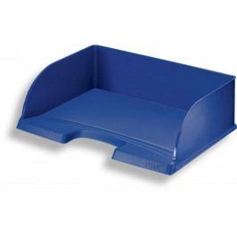 Odkladač Leitz Jumbo Plus na šířku modrý