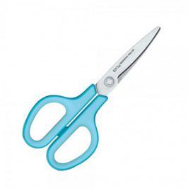 Nůžky kancelářské PLUS Fitcut 17,5 cm modré
