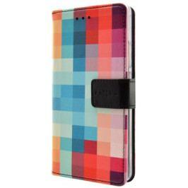 Fixed Flip-kryt Opus (Huawei P9 Lite 2017), vícebarevný - II. jakost