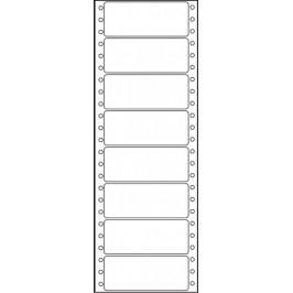 Etikety tabelační jednořadé S&K Label 89 x 36,1 bílé