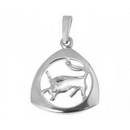 Brilio Silver Stříbrný přívěsek Býk 441 001 00891 04 - 1,23 g stříbro 925/1000