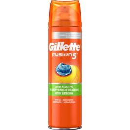 Gillette Fusion Sensitive gel na holení 200 ml