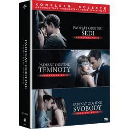 Padesát odstínů - Kompletní kolekce (3 DVD)   - DVD