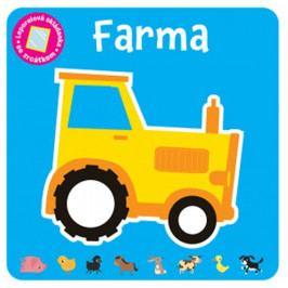 Barker Vicky: Farma - Leporelová skládanka se zrcátkem
