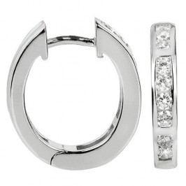 Silver Cat Stříbrné náušnice se zirkony SC226 stříbro 925/1000
