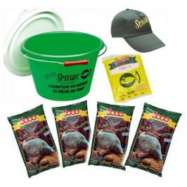Sensas akční kbelík s krmením