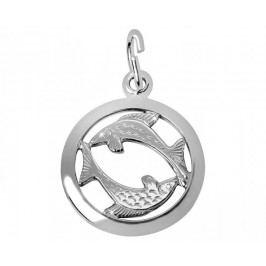 Brilio Silver Stříbrný přívěsek Ryby 441 001 00612 04 - 0,98 g stříbro 925/1000