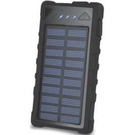 Forever Power banka (8 000 mAh; 2x USB), solární, černá - II. jakost