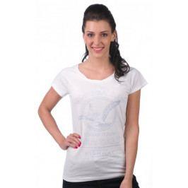 Timeout dámské tričko S bílá