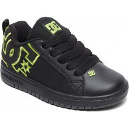 DC Ct Graffik Se B Shoe Bk9 Black/Black/Soft Lime 28