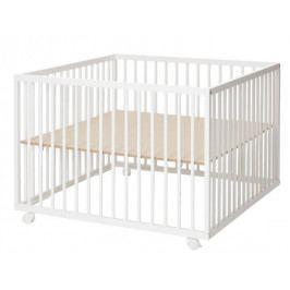BabyDan Dřevěná ohrádka Comfort Large, White