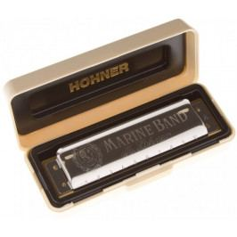 Hohner Marine Band 1896 B-major Foukací harmonika