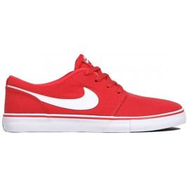Nike SB Solarsoft Portmore II Canvas Red/White/Black 7.5 (42)