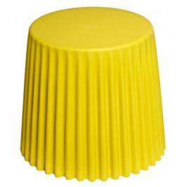 Mørtens Furniture Odkládací stolek Prop, 47 cm, žlutá