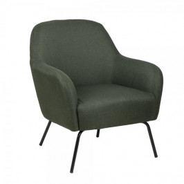 Design Scandinavia Relaxační křeslo Margit, zelená