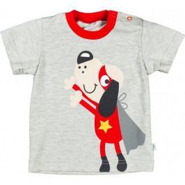 MMDadak chlapecké tričko Kaboom 98 šedá