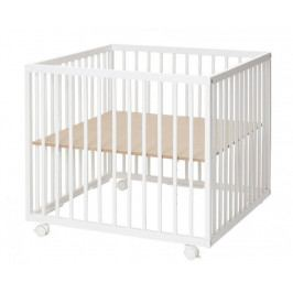 BabyDan Dřevěná ohrádka Comfort Medium, White