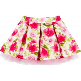 MMDadak dívčí sukně Flower 104 vícebarevná
