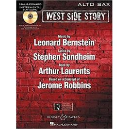 KN West Side Story Play-Along Noty pro saxofon