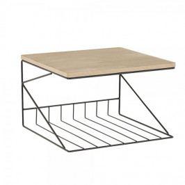 Design Scandinavia Nástěnný stojan na časopisy Tundra, 33 cm