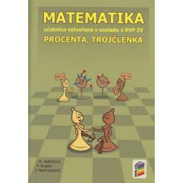 Matematika - Procenta, trojčlenka (učebnice)