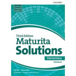 Falla Tim, Davies Paul A.: Maturita Solutions 3rd Edition Elementary Workbook Czech Edition