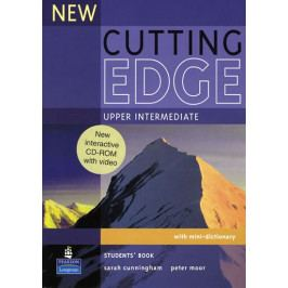 Cunningham Sarah: New Cutting Edge Upper Intermediate Students Book and CD-Rom Pack