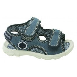 Canguro chlapecké sandály 23 modrá