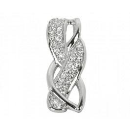 Silver Cat Stříbrný přívěsek s krystaly SC110 stříbro 925/1000